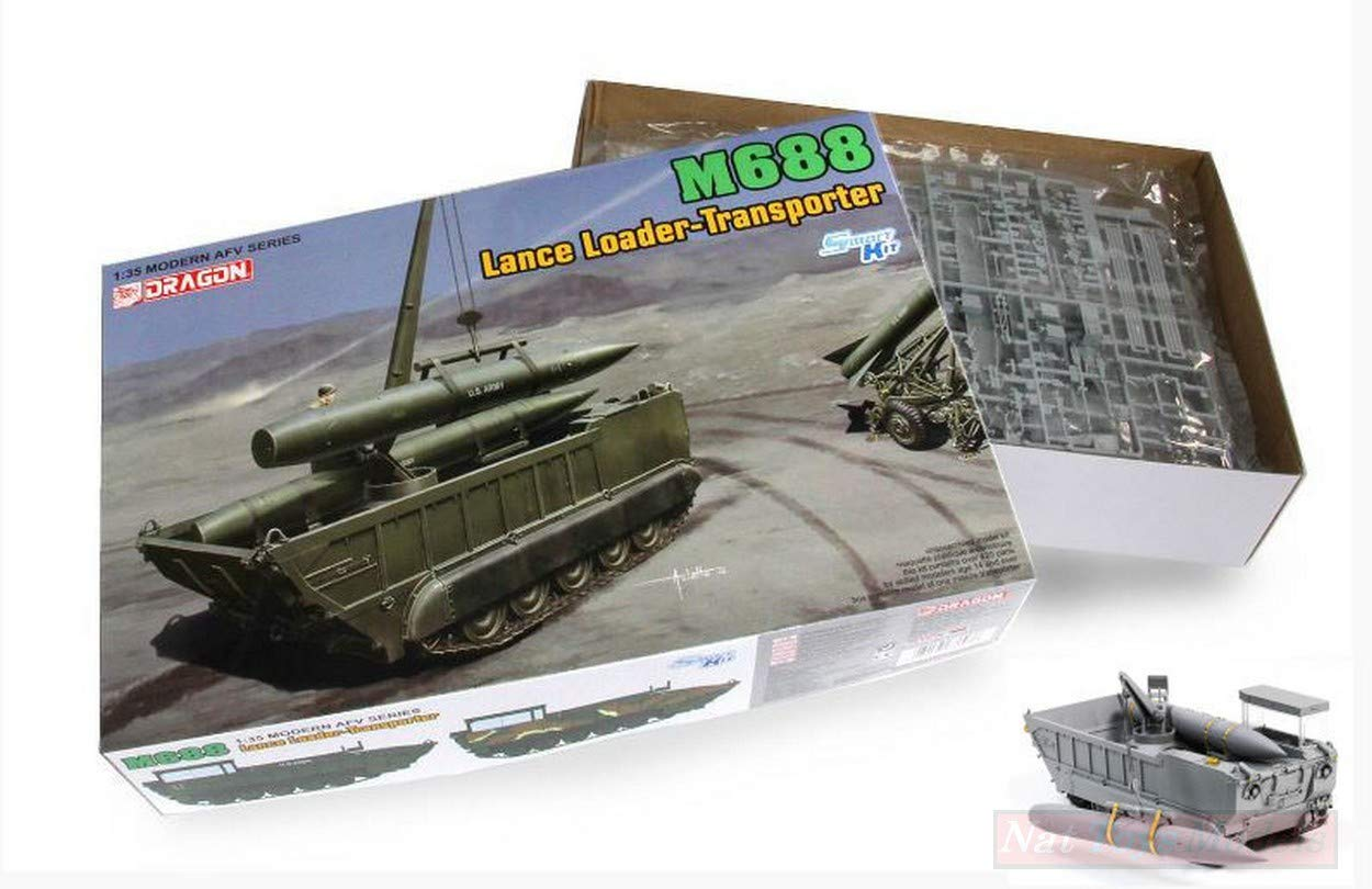 NEW Dragon D3607 M688 Lance Loader-Transporter Kit 1:35 MODELLINO Model