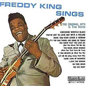 Freddy King Freddy King Sings Amazon Com Music