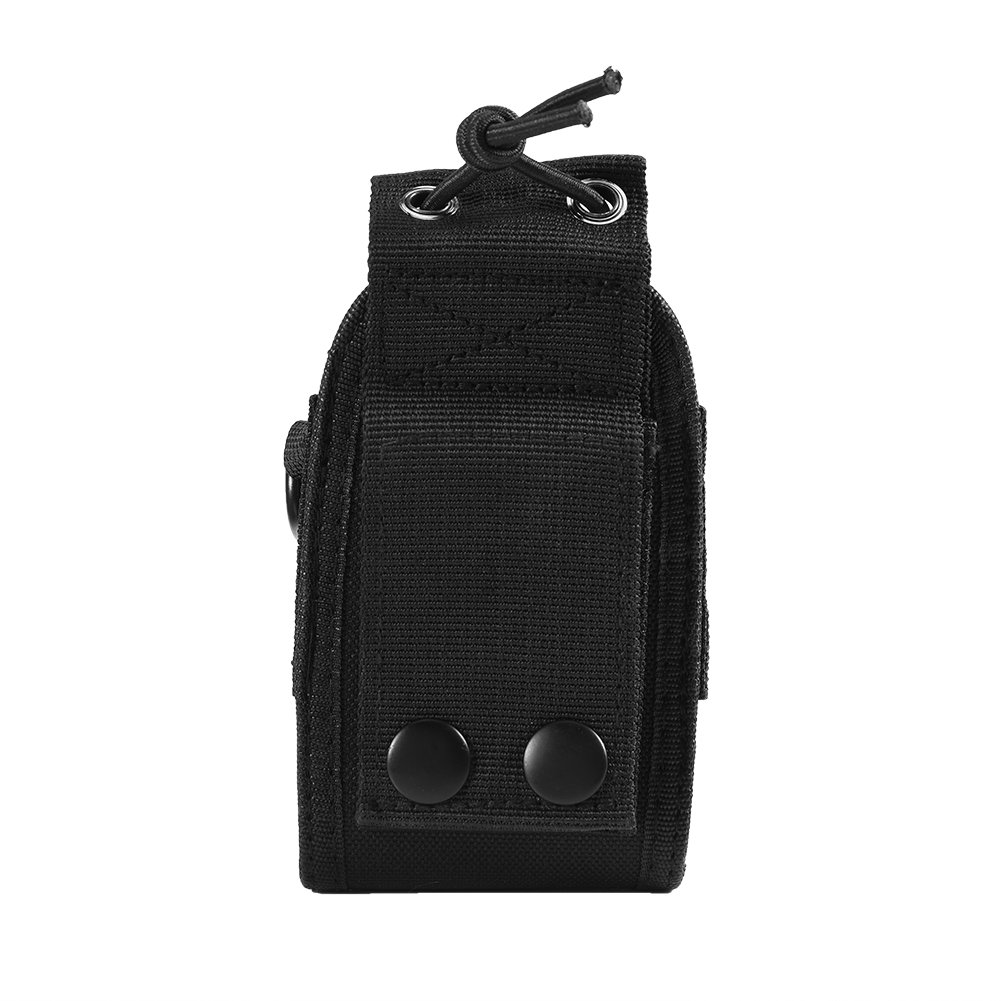 Zerone Universal Walkie Talkie Nylon Belt Case Bag with Adjustable Shoulder Strap Two Way Radio Holder Holster Case MSC-20A For Kenwood/Motorola/HYT Two-Way Radio by Zerone (Image #7)