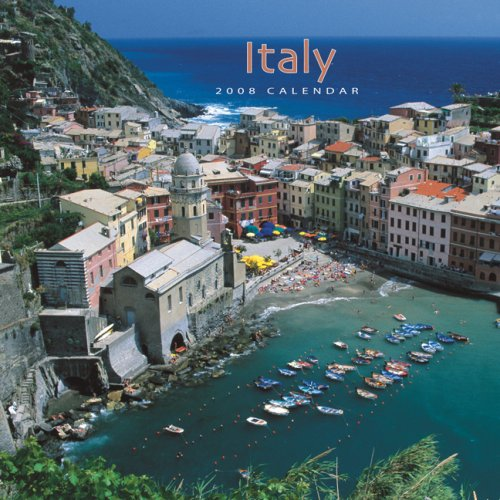 Italy 2008 Square Wall Calendar (Multilingual Edition)