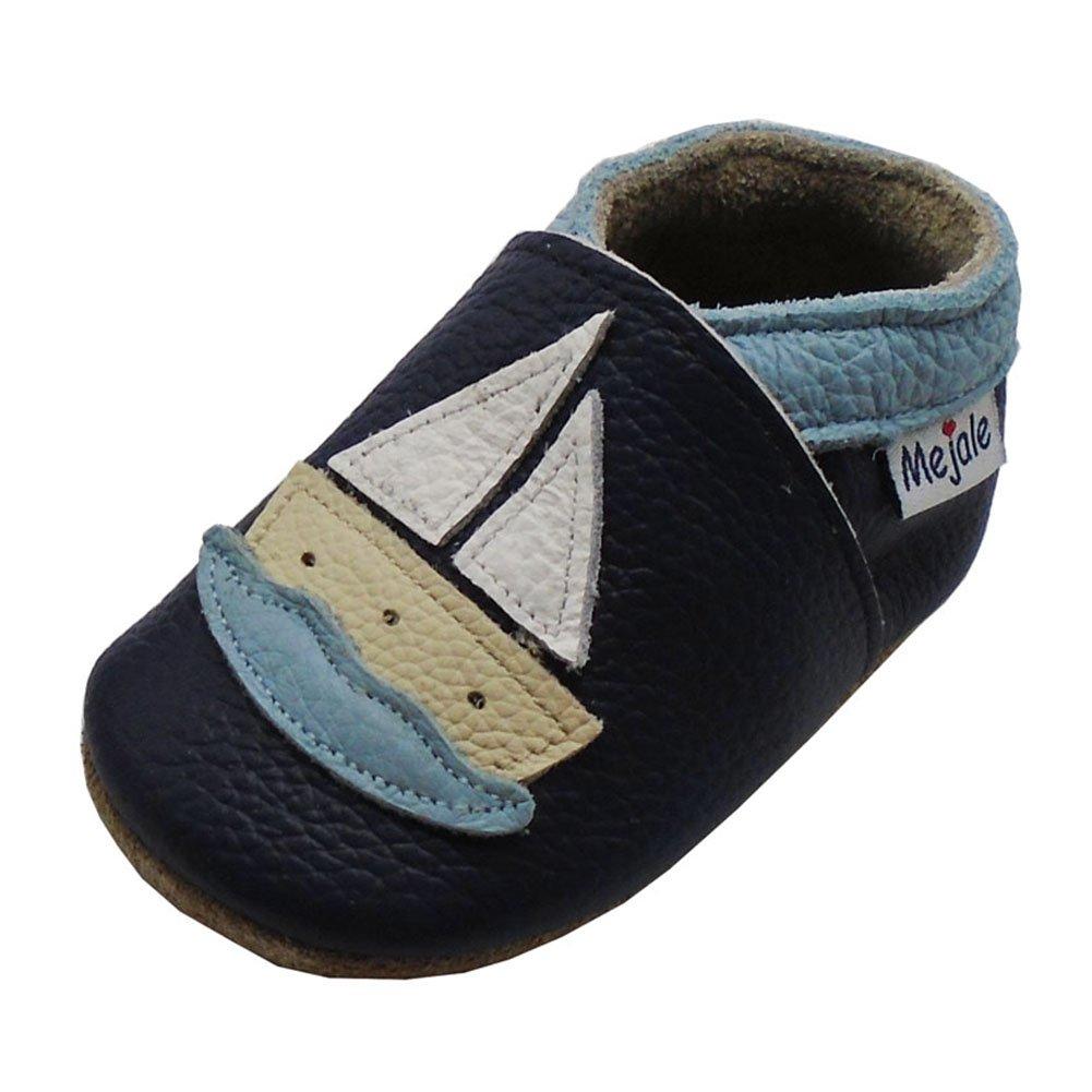 Mejale Chaussures Bébé - Chaussons Bébé - Chaussons Cuir Souple - Chaussures...