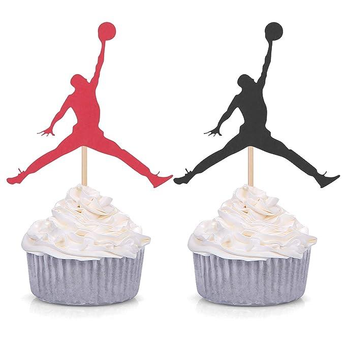Decoración para cupcakes de Jumpman, 24 unidades, tema de ...