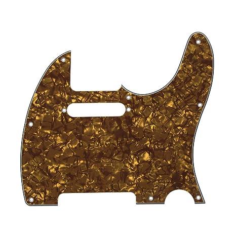 IKN 1pcs 3-Ply 8 agujeros Scratchplate guitarra Pickguard con ...