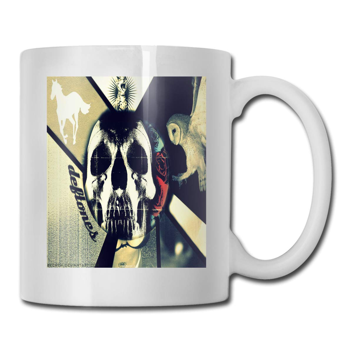 Amazoncom Larrygthatcher Deftones Woman Or Mans Cup Office Leisure