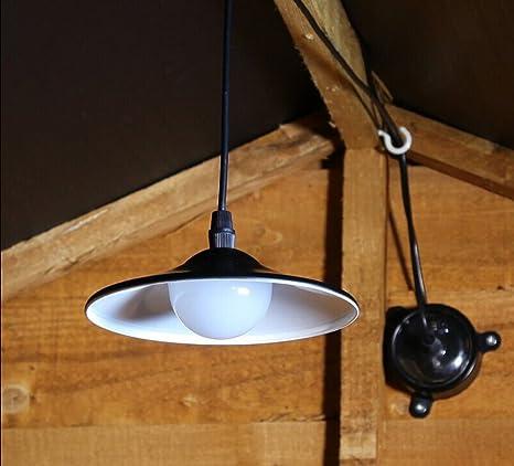 Amazon Com Realsun Solar Powered Pull Cord Switch Pendent Light