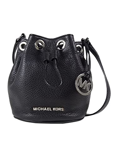 Michael Kors Jules Drawstring Crossbody in Black: Handbags: Amazon.com