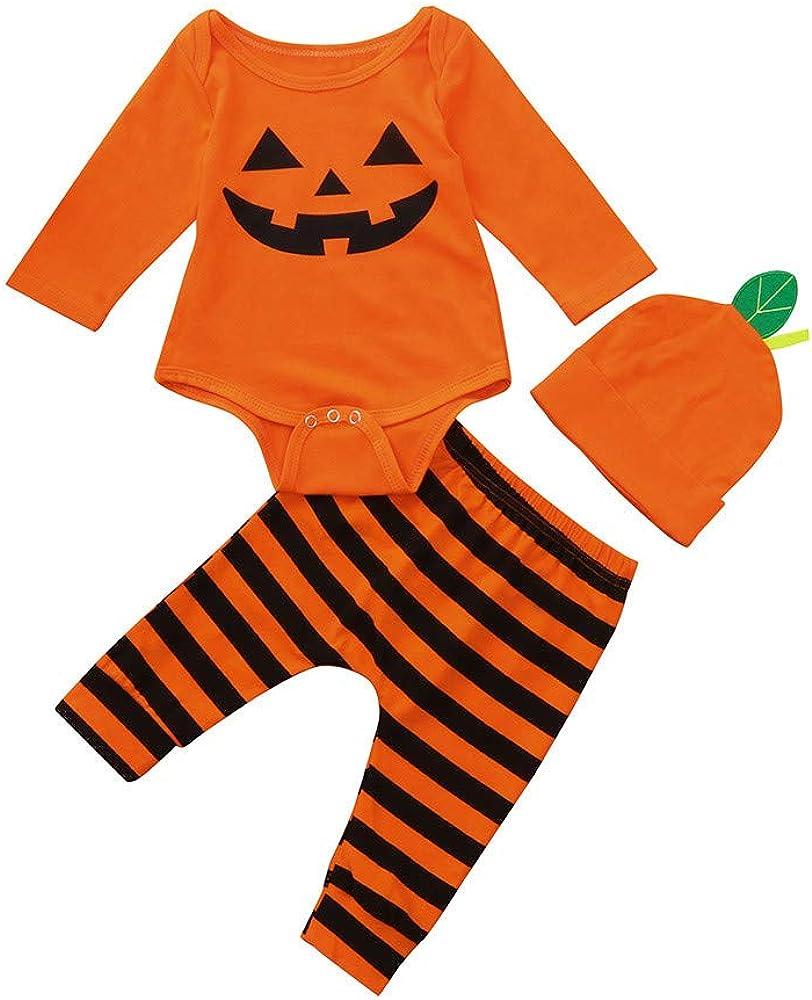 Btruely 2Pcs Neugeborene Kleidung Set Baby Junge M/ädchen Kleider Set Lange H/ülse Kapuzenpullover Gestreift Tops Hose Warm Outfits