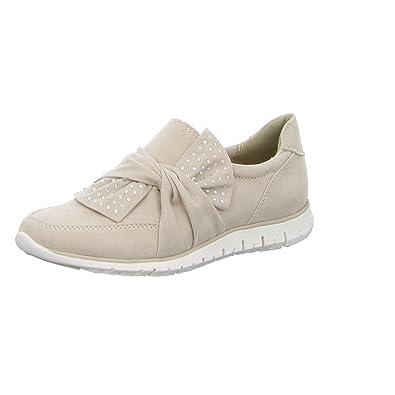 Marco Tozzi 2-2-24708-20/404 - Mocasines de Tela para Mujer, Color Beige, Talla 42: Amazon.es: Zapatos y complementos