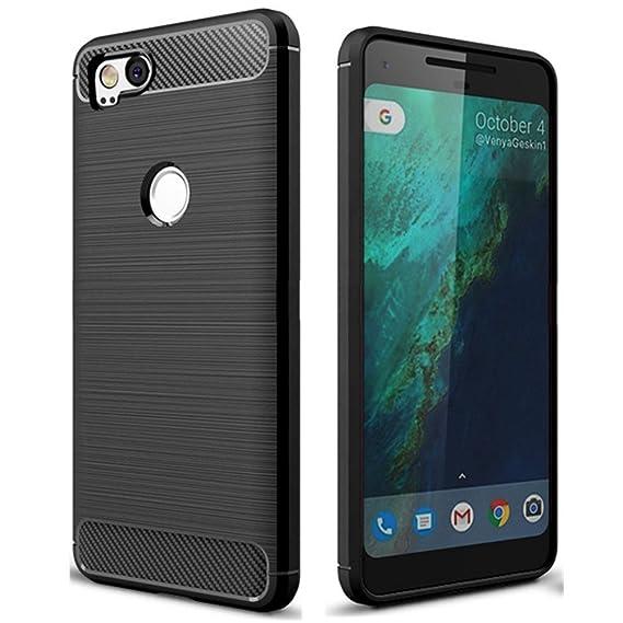 huge selection of 77ad9 ddb7e Pixel 2 Case, Google Pixel2 Case, Cruzerlite Carbon Fiber Shock Absorption  Slim case for Google Pixel 2 (2017)