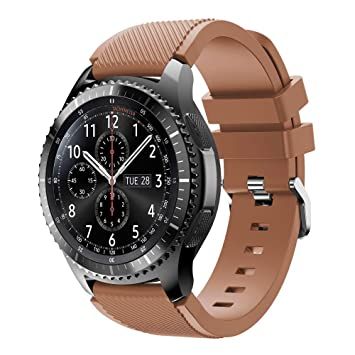 Tabcover for Gear S3 Frontier Smart Watch Correa, 22mm Soft ...