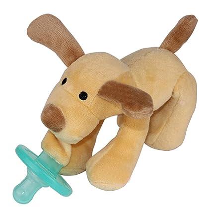 Cartoon Cute bebé chupetes de silicona bebé mono cachorro de ...