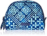 Vera Bradley Medium Zip Cosmetic, Cuban Tiles