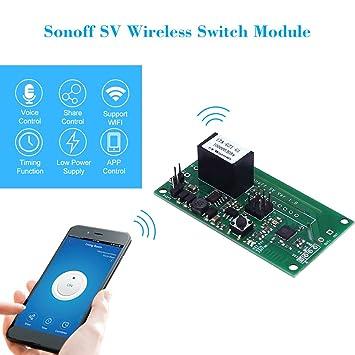 Amazon com: ContempoViews Itead Sonoff SV Safe Voltage WiFi