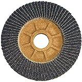 CS Unitec 93526 PLANTEX Flap Disc, Zirconium, 4-1/2'' Diameter, 7/8'' Arbor, 60 Grit (Pack of 50)