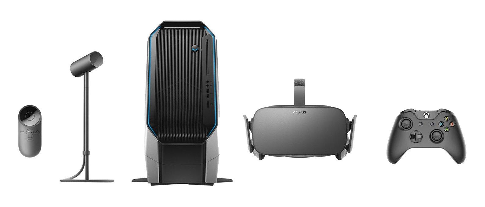 Oculus Rift + Alienware Oculus Ready Area 51 Gaming Desktop PC Bundle [Bundle is Discontinued]