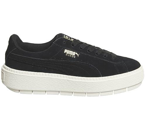 puma cafè noir scarpe, bianco scarpe Puma donne grinta cat