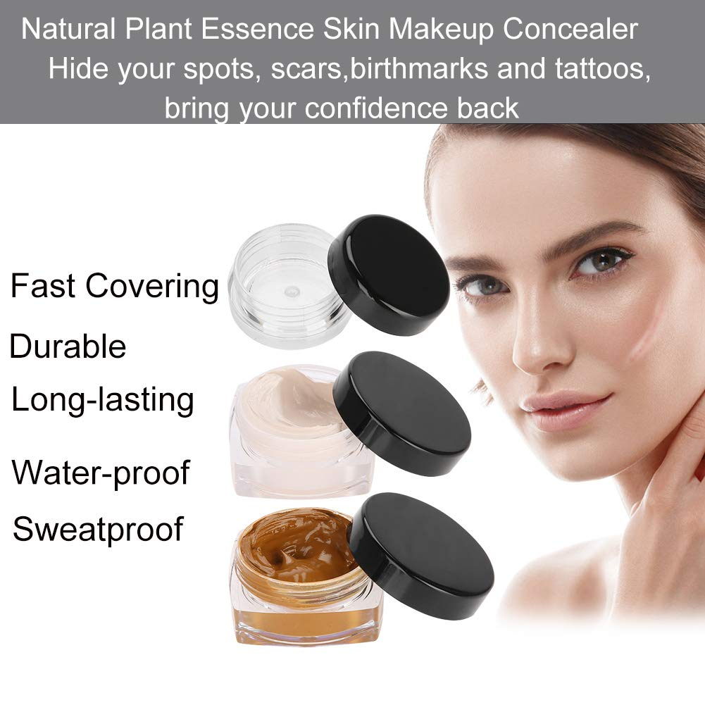 Tattoo Concealer, Upgrade Professional Waterproof Skin Camouflage Cream  Scar Hiding Tattoo Cover