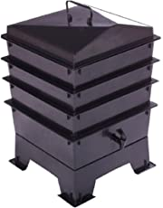 Deluxe Wormery Kit, 3 X Bac Du0027empilage, Composteur Contre Les Vers,