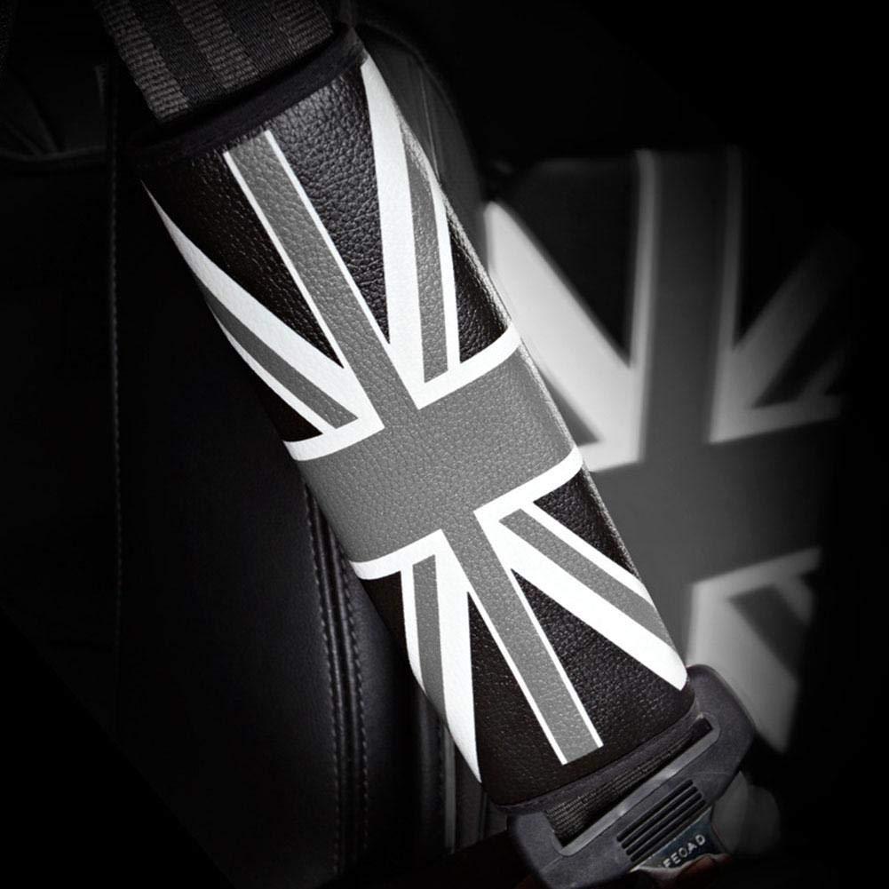 Blau ZHIXX MALL Leder Gurtpolster im Zweierpack Autositz Gurtschoner,Polsterung f/ür Sitzgurt im Auto,f/ür alle Mini Cooper und anderes Auto