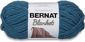 Bernat Blanket Super Bulky Yarn, 5.3oz, Guage 6 Super Bulky, Dark Teal