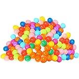 Domybest 100pcs Palline Colorate Morbide di Plastica Giocattoli della Piscina per i Bambini