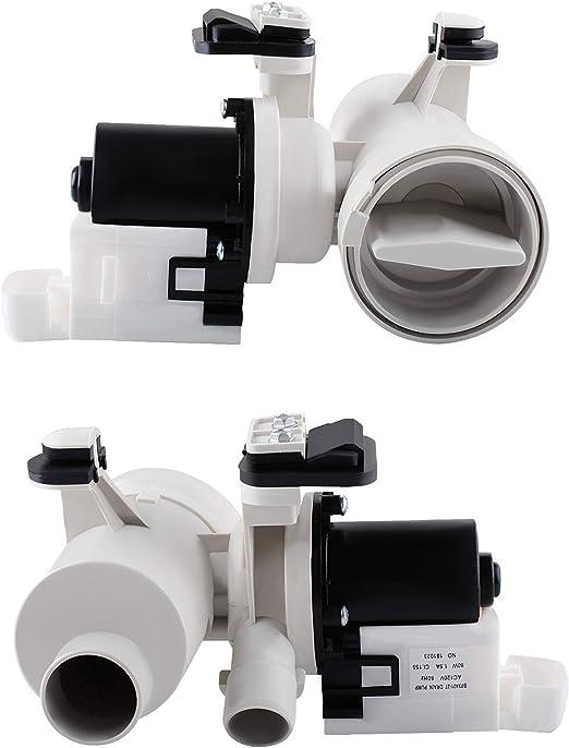 Amazon.com: Podoy W10130913 - Bomba de drenaje para lavadora ...