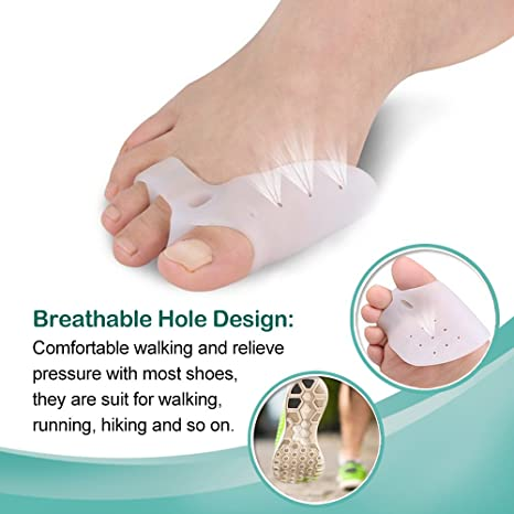 Amazon.com: Bunion Corrector and Bunion Splint Care Kit for Bunion Relief, Hallux Valgus Corrector, Big Toe Straightener Brace, Big Toe Joint Protector, ...