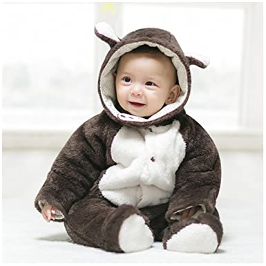 Boleyn Baby Cute Animal Costumes Infant Jumpsuit Casual Clothes (Small(Fit  55-60cm 2a451fd03204