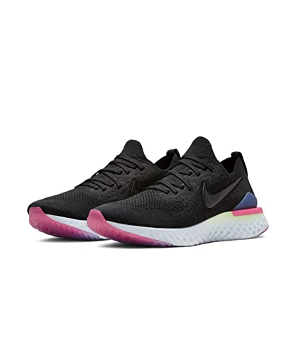super popular 416f0 ef50c Nike Nike Epic React Flyknit 2 Men S Run - black black-sapphire-lime