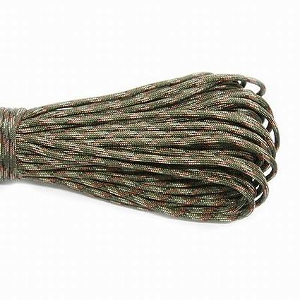 550 Parachute Cord Lanyard Rope Diameter 4mm Type III 7 Stand Climbing Camping Survival Rope