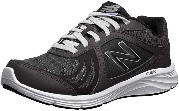 New Balance Women's WW496V3 Walking Shoe-W CUSH + Walking Shoe, Black, 5 B US