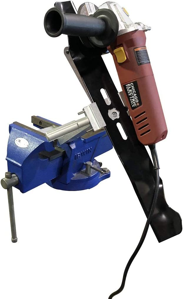 best lawn mower blade sharpening tool - MB Machine
