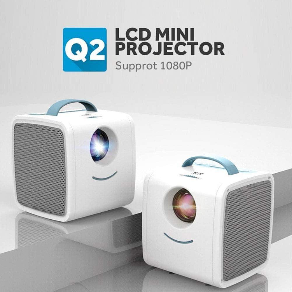 SEXTT El proyector casero, 1080P HD Inteligente de Educación ...