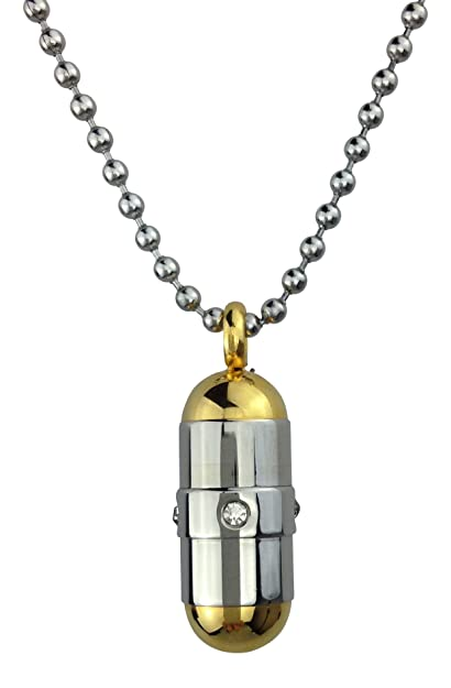 24396dc311f9 Love to Treasure cápsula colgante oro urna - recuerdo conmemorativo de  ceniza - joyería de cremación  Amazon.es  Joyería