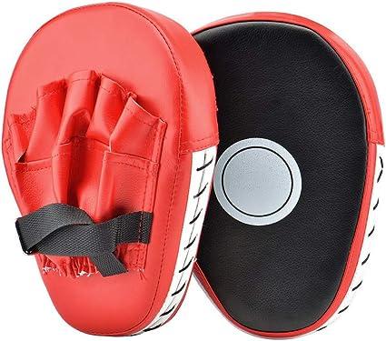 Muay Thai Karate MMA Taekwondo Pad Focus Boxing Hitting Shield Kick Punch Target