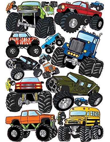 Monster Truck Wall Stickers/Truck Decals/ Graphics