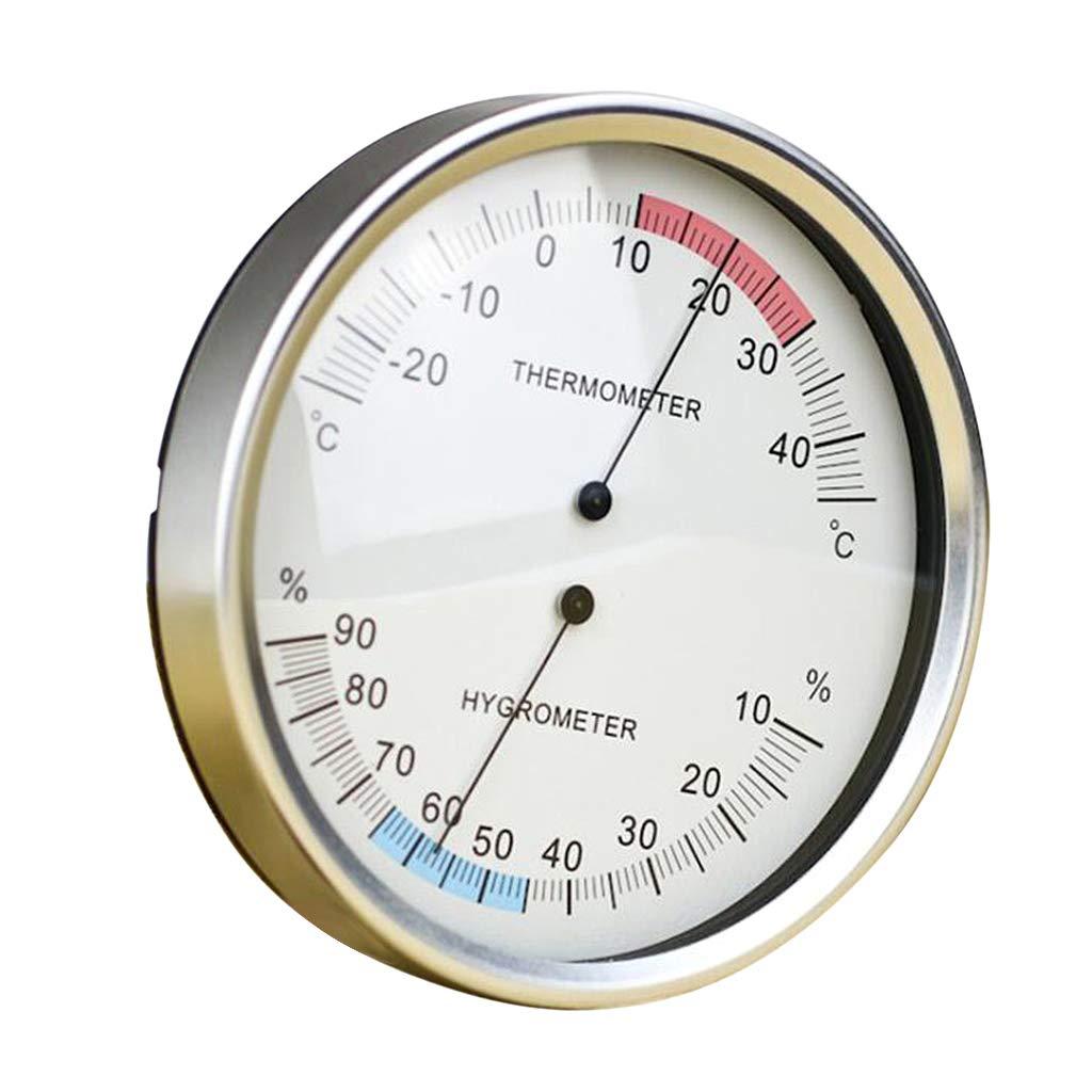 H HILABEE Thermo Hygrom/ètre de Haute Pr/écision Testeur de Temp/érature Humidit/é Hygrom/ètre Thermom/ètre Analogique