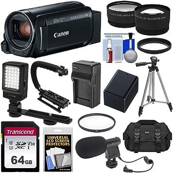 Amazon.com: Juego de Videocámara y grabador Canon ...