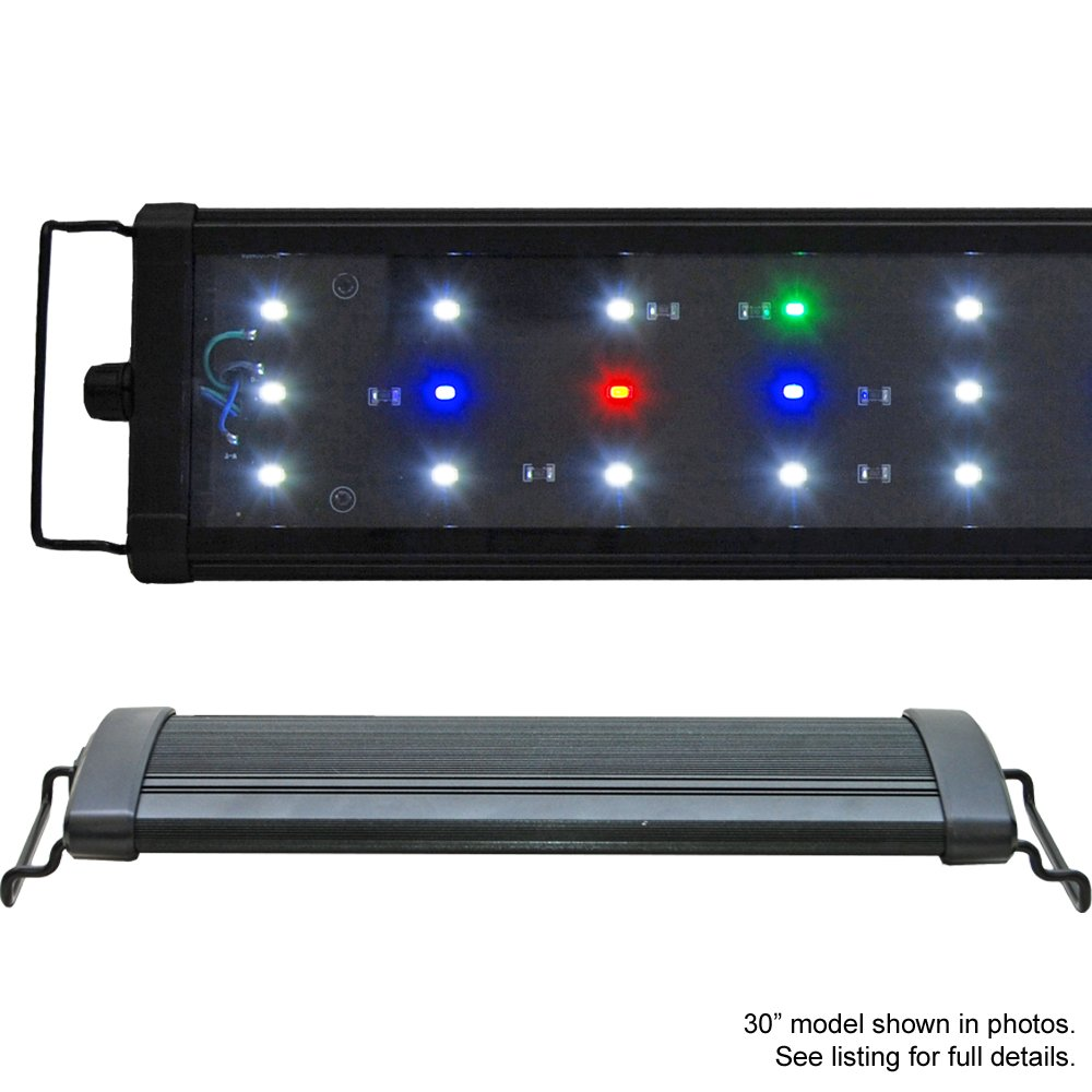 Beamswork EA Timer FSPEC LED Aquarium Light Freshwwater Plant Extendable (120cm - 48'')