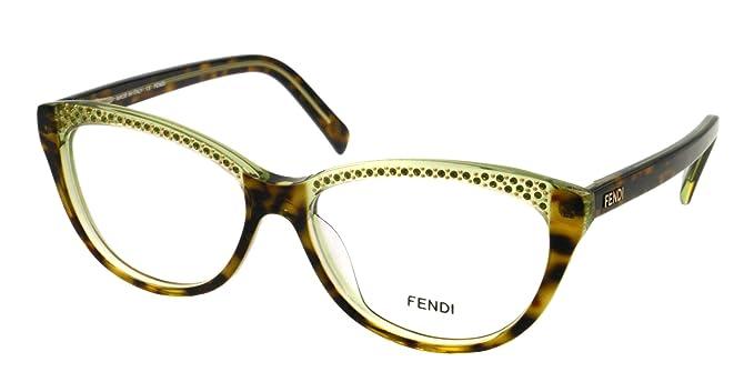 9ae4471230d Fendi Eyeglasses F 1003R HAVANA 220 F1003R  Amazon.co.uk  Clothing