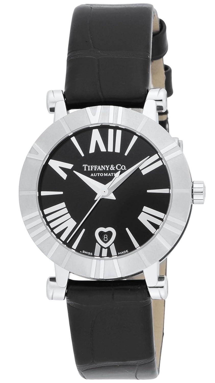 [ティファニー]Tiffany&Co. 腕時計 Atlas ブラック文字盤 自動巻 アリゲーター革ベルト Z1300.68.11A10A71A レディース 【並行輸入品】 B00IVPOBSI
