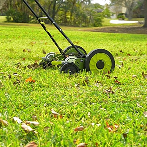 push manual lawn mowers reviews