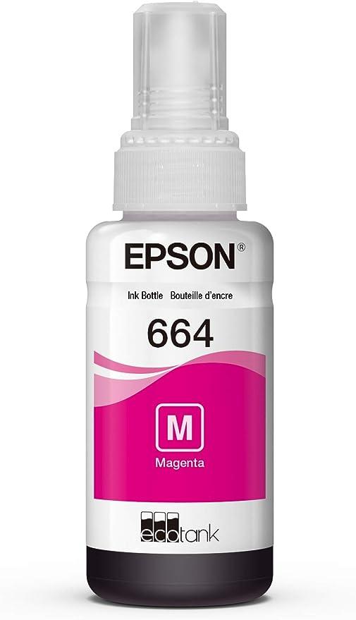 Amazon.com: Epson EcoTank - Botella de tinta, Magenta ...