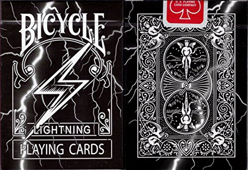 Lightning Bicycle Playing Cards Poker Size Deck USPCC BOCOPO Custom Limited
