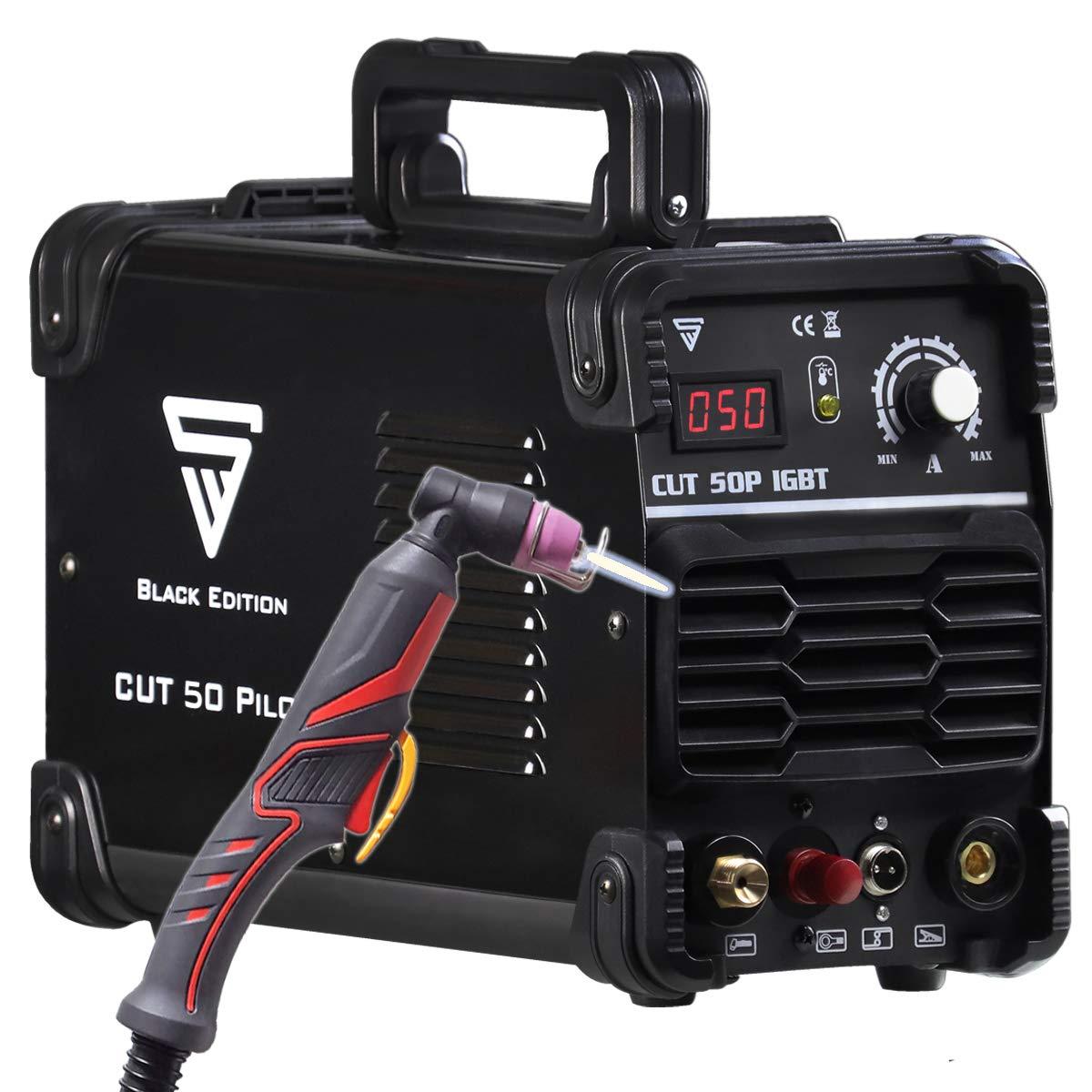 7 Jahre Garantie* f/ür Lackierte Bleche /& Flugrost geeignet STAHLWERK CUT 50 Pilot IGBT Plasmaschneider mit Pilotz/ündung und 50 Ampere bis 14 mm Schneidleistung