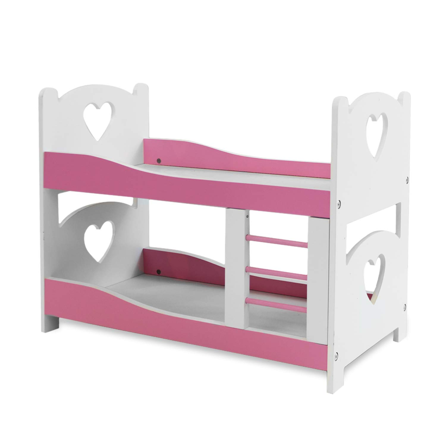 Amazon Com Pink Butterfly Closet Doll Bunk Bed Furniture Fits