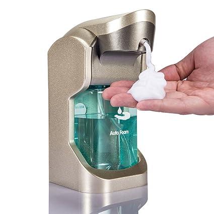 Dispensador de jabón teléfono móvil de Lavado automático de Espuma de inducción Caja de Gel de