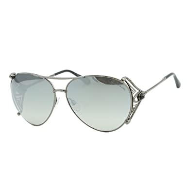 80d166ae16 2018 Roberto Cavalli Fucecchio RC-1057 Women Swarovski Mirrored Aviator  Sunglasses