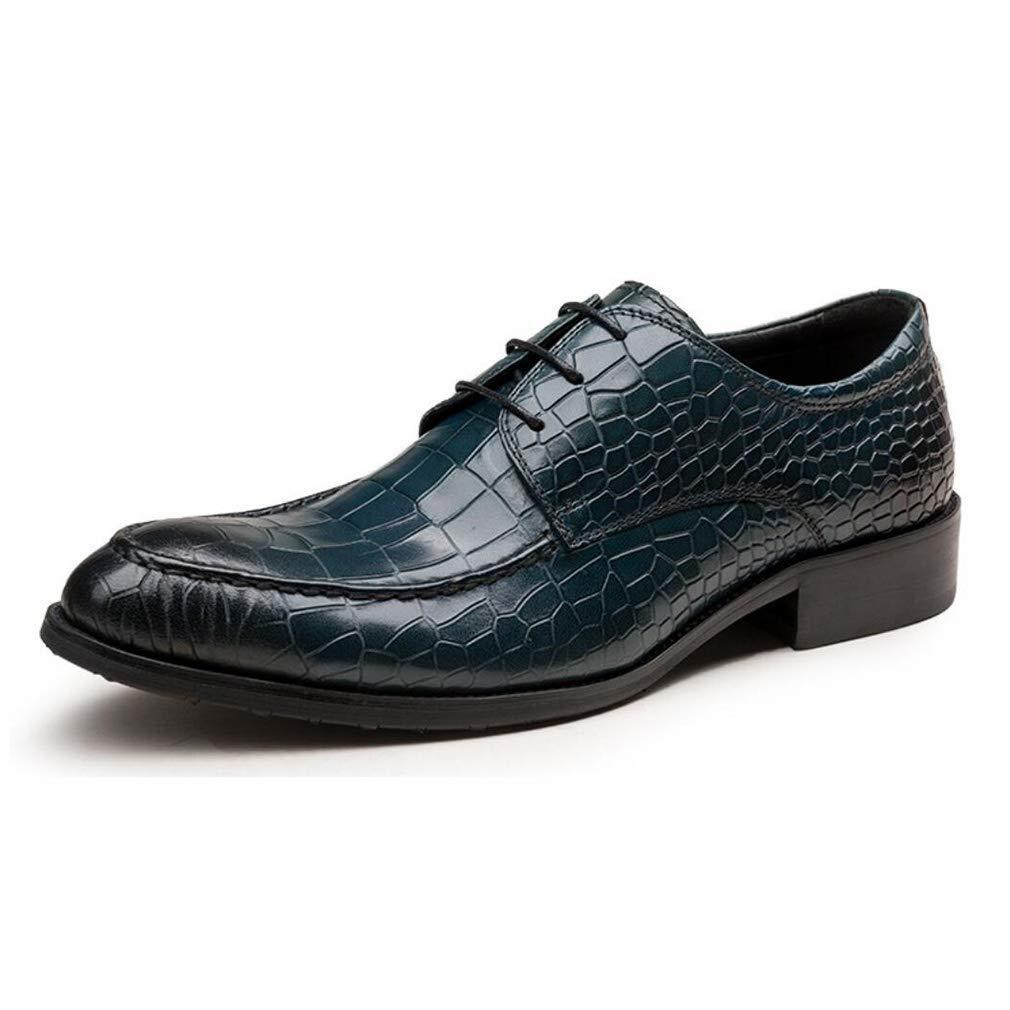 FuweiEncore Herrenschuhe Leder Frühjahr   Herbst Neuheit Business-Schuhe Formale Schuhe Party & Abend Kleid Schuhe (Farbe   B, Größe   37) (Farbe   B, Größe   42)