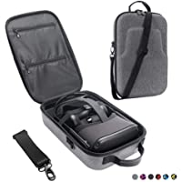 Esimen Fashion Travel Case for Oculus Quest VR Gaming Headset and Controllers Accessories Waterproof Carrying Bag (Gray)